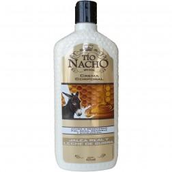 Tio Nacho Jalea Real y Leche de Burra Crema Corporal (415 ml)