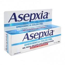 Asepxia Gel Facial Anti Imperfecciones Emergencia, 28 g, color Piel