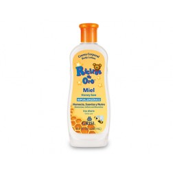 Ricitos de Oro Crema con Miel, 250 ml, Color Naranja