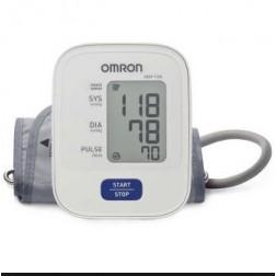 Omron Monitor Hem-7120 de Presión Arterial de Brazo Automático, Multicolor