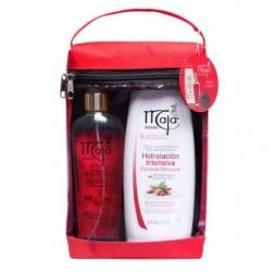 Estuche Maja Crema Liquida Hidratacion Intensiva (400 ml) + Fragancia Corporal Aroma Clasico (240 ml)