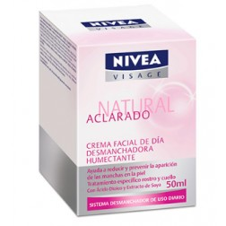 Nivea 24432 Crema Facial Aclarado Natural, 50 ml