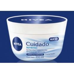 Nivea 24420 Crema Facial Nutritiva, 200 ml
