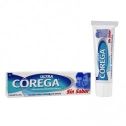 Corega Ultra Sin Sabor Crema Adhesiva para Protesis Dentales (40 g)