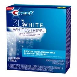 Crest 3D White Cintas Blanqueadoras Whitestrips (14 pzas)