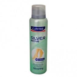 Curitas Desodorante en Spray para Pies Silver Active, 150 ml