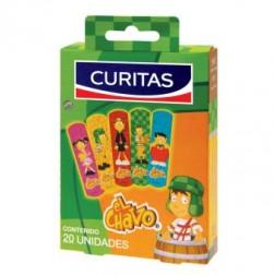 Curitas El Chavo Paquete con 20 Venditas, 1 Pieza